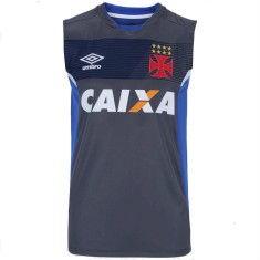 bac2ab1bd4b16 Camisa Regata Vasco da Gama 2017 Treino Masculino Umbro