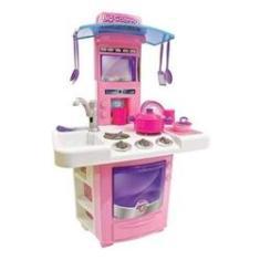 Imagem de Brinquedo Big Cozinha Com Pia E Fogão Sai Água De Verdade