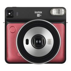 Câmera Analógica Instantânea Fujifilm Instax Square Sq6 Ruby