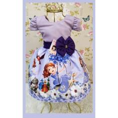 Imagem de Vestido Infantil tema Princesa Sofia (Balanço)