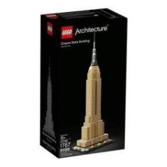 Imagem de LEGO Architecture - Empire Statue Building - New York USA - 21046