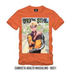 Imagem de Camiseta Personagem Naruto Laranja BROOKSTHIL