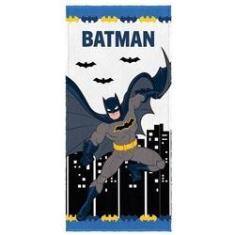 Imagem de Toalha de Banho Infantil Felpuda Batman The City