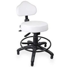 Imagem de Cadeira Mocho  Ergonômico Caixa Com Aro Com Sapata - ULTRA Móveis