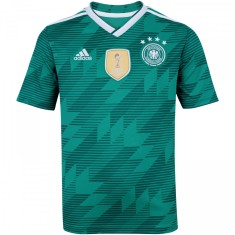 Camisa infantil Alemanha II 2018 19 sem Número Torcedor Infantil Adidas 59b74c9f8127e