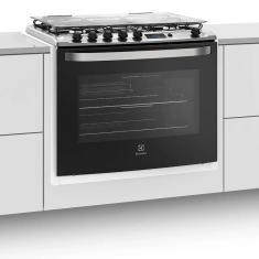 Fogão de Embutir Electrolux 76EBR 5 Bocas Acendimento Automático Grill