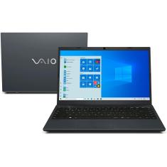 "Notebook Vaio FE14 VJFE41F11X-B0411H Intel Core i3 8130U 14"" 4GB HD 1 TB 8ª Geração Windows 10"