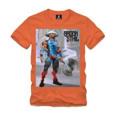 Imagem de Camiseta Personagem Samurai Laranja BROOKSTHIL