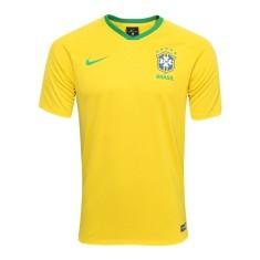 13d54a8eeb79f Camisa Supporter Brasil I 2018 19 sem Número Torcedor Masculino Nike