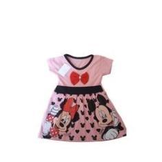 Imagem de Vestido Minie menina bebê