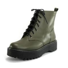 Imagem de Coturno Verde Militar Army