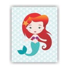 Imagem de Quadro Decorativo Tema Princesas 23x19cm QDLPR01