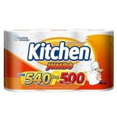 Imagem de Papel Toalha Folha Dupla Kitchen Jumbo 540 Folhas