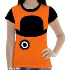 Imagem de Camisa Camiseta Feminina Clockwork Orange Laranja Mecanica 9
