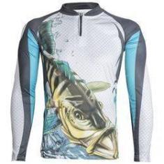 Imagem de Camiseta De Pesca King Proteção Solar Uv Kff19 - Tucunaré