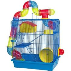 Imagem de Gaiola 3 Andares Para Hamster  Jel Plast