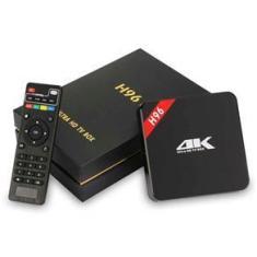 Imagem de TV Conversor Transforma em SMART TV HD 4K Android Netflix Youtube Wi-Fi