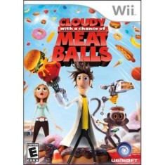 Jogo Cloudy With a Chance of Meatballs Wii Ubisoft
