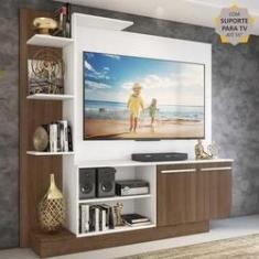 Imagem de Estante Home Theater com Suporte P/TV até 55'' Denver Multimóveis /Madeirado