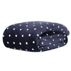 Imagem de Cobertor Microfibra Queen Blanket Vintage 300 Petit Poá Bolinhas Toque de seda Extra Soft Kacyumara