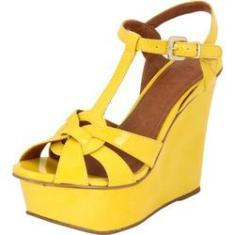 Imagem de Sandália Plataforma My Shoes Verniz