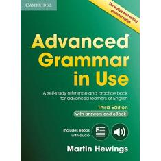 Imagem de Advanced Grammar in Use Book with Answers and Interactive eBook: A Self-Study Reference and Practice Book for Advanced Learners of English - Martin Hewings - 9781107539303