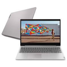 "Notebook Lenovo IdeaPad S145 82DJ0005BR Intel Core i5 1035G1 15,6"" 4GB Optane 16 GB HD 1 TB"