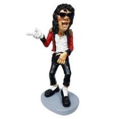 Imagem de Boneco Michael Jackson King Of Pop Em Resina