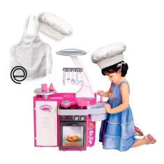 Imagem de Cozinha Infantil Classic Kit C/ Fogão Pia Geladeira Cotiplás
