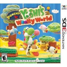 Jogo Poochy & Yoshis Woolly World Nintendo 3DS