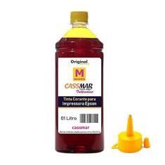 Imagem de Tinta Epson Yellow 1 Litro Impressoras L355 L365 L375 L380 L395 L396 L220 L120 L455 L475 L495 L800