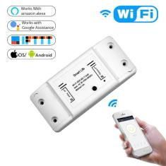 Imagem de Interruptor inteligente wi-fi universal para casa, interruptor universal smart diy sem fio com