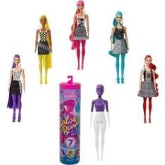 Imagem de Boneca Barbie Color Reveal Monocromático 7 Surpresas Mattel