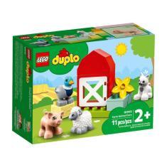 Imagem de Lego Duplo Cuidado Dos Animais Na Fazenda 11 Peças 10949