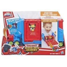 Imagem de Veículo e Mini Figura - Playskool Heroes - Transformers Rescue Bots Academy - Hasbro