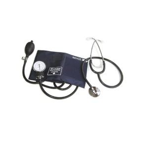 Aparelho Medidor de Pressão De Braço Analógico Glicomed Aneróide com Estetoscópio Premium