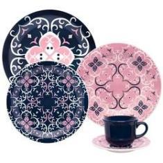 Imagem de Jogo Jantar e Chá 30 Peças Floreal Hana Oxford Porcelanas