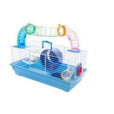 Imagem de Gaiola Para Hamster Ramster De Passeio Com Tubos Coloridos