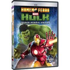 Imagem de DVD - Homem de Ferro - Hulk: Super-Heróis Unidos