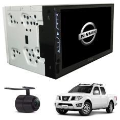 "Central Multimídia Automotiva H-Tech 7 "" Frontier 2015 2016 2017 Nissan Touchscreen Bluetooth"