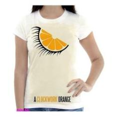 Imagem de Camiseta Camisa Feminina Orange Laranja Mecanica 15