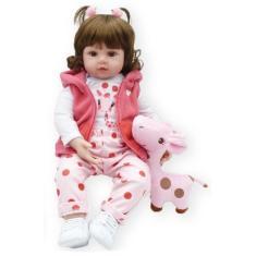 Imagem de Boneca Bebê Reborn Girafinha NKP