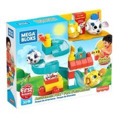 Imagem de Mega Bloks Peek A Blocks Parque De Diversões - Fisher-price