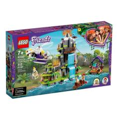 Imagem de Bloco De Montar Friends Tiger Hot Air Balloon Jungle Rescue -Lego
