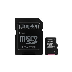 Cartão de Memória Micro SDHC com Adaptador Kingston 32 GB SDC4/32GB