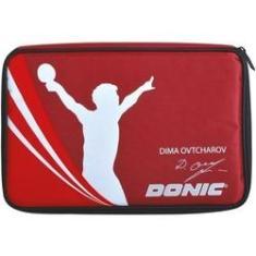 Imagem de Raqueteira Case Donic Ovtcharov Tênis De Mesa Porta Bolas