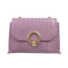 Imagem de Simples Popular Feminino dirio Bag Casual Couro pu Sling bolsa Mulheres Cadeia elegante Ombro Crossbody Bag