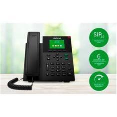 Telefone Ip Sip V5501 6 Contas Sip Giga - Intelbras