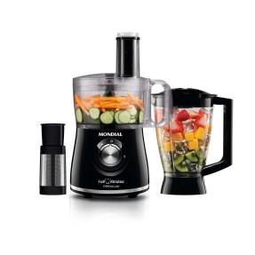 Imagem de Processador de Alimentos com Liquidificador Mondial Full Kitchen Premium MP-08 500 W