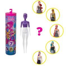 Imagem de Boneca Barbie - Fashionista - Color Reveal - Monocromática - Mattel